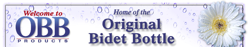 Welcome to OBB Products - Home of the Original Bidet Bottle